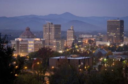 <b>#47 - Asheville</b><BR><BR> Violent Crimes Per 1,000: 4.95 <BR>Property Crimes Per 1,000: 8.69