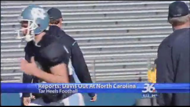 North Carolina fires football coach Butch Davis