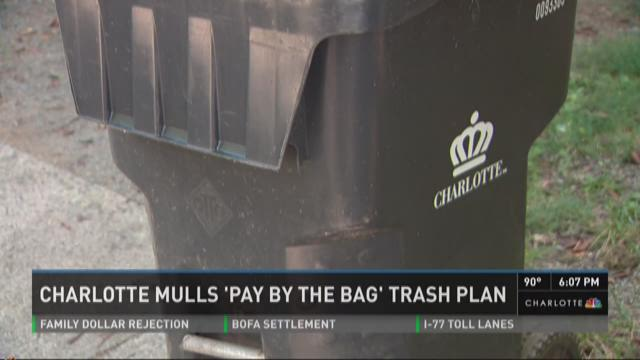 Charlotte mulls 'Pay by the Bag' approach