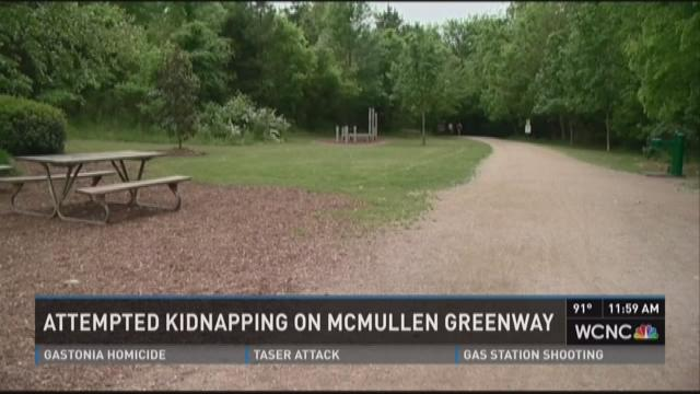 Attempted kidnapping on McMullen Greenway