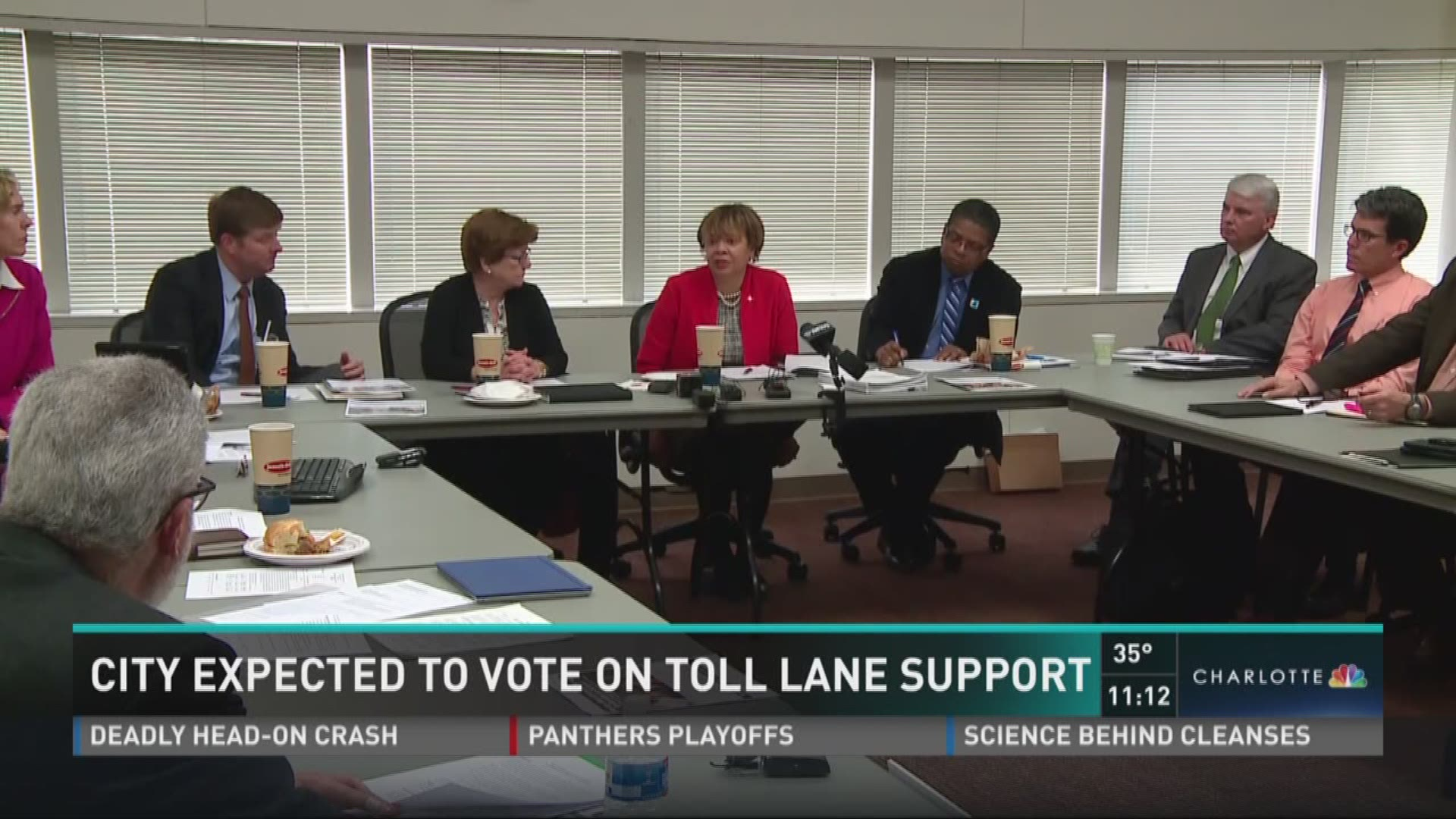 City expected to vote on toll lane support