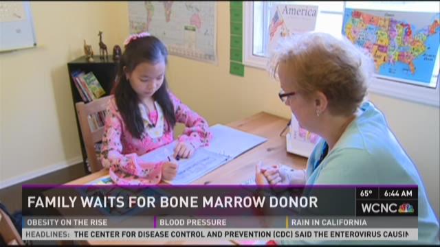 Family waits for bone marrow donor