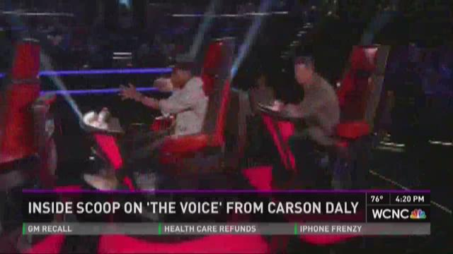 Inside scoop on 'The Voice' from Carson Daly