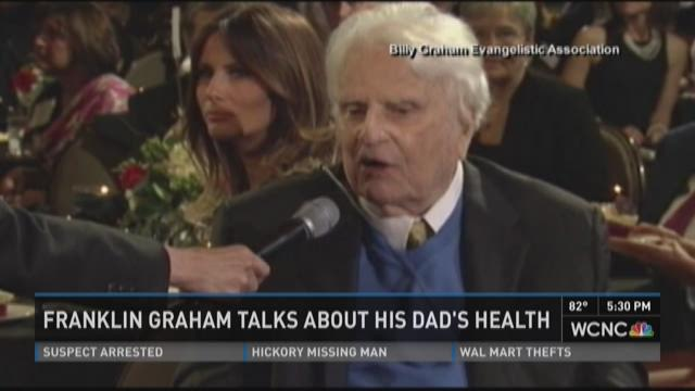 Franklin Graham talks about his dad's health