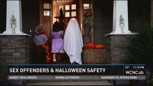 Sex offenders and Halloween safety