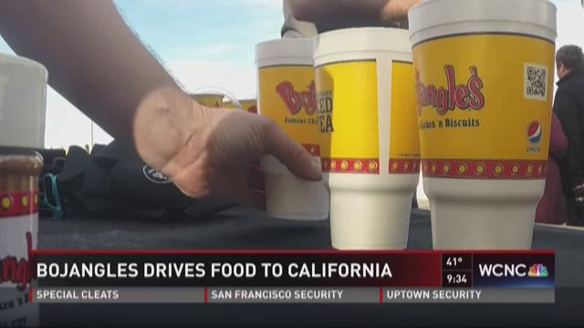 Bojangles drives to San Francisco for Super Bowl