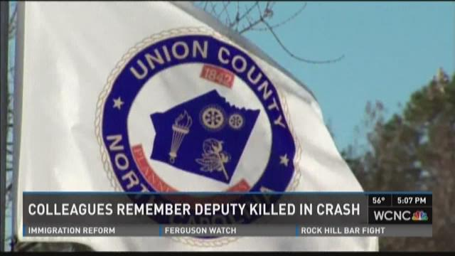 Colleagues remember deputy killed in crash