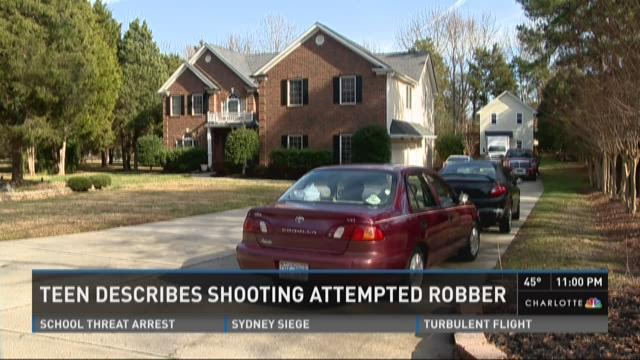 Teen describes shooting attempted robber