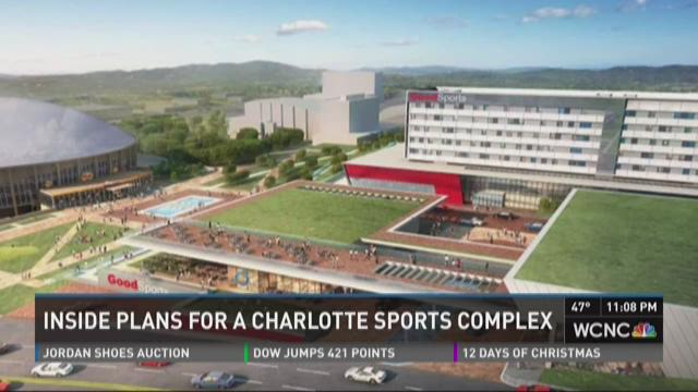 Inside plans for a Charlotte sports complex