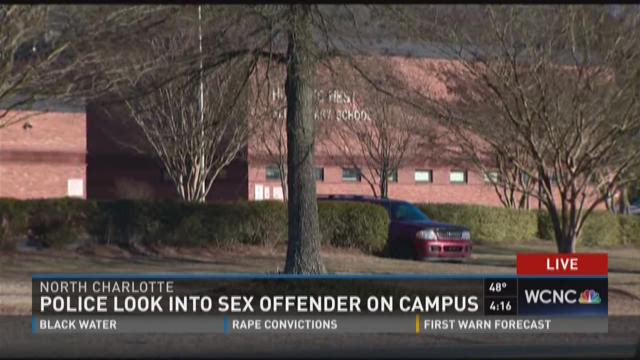 CMPD looks into report of sex offender at school
