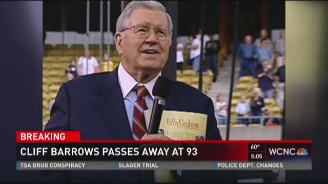 Cliff Barrows passes away at 93