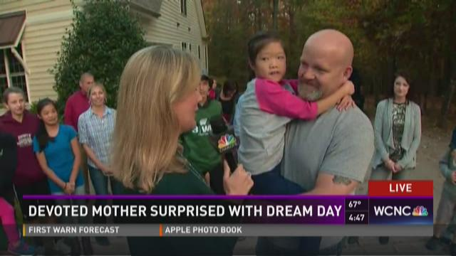 Mom of 7 surprised with dream day