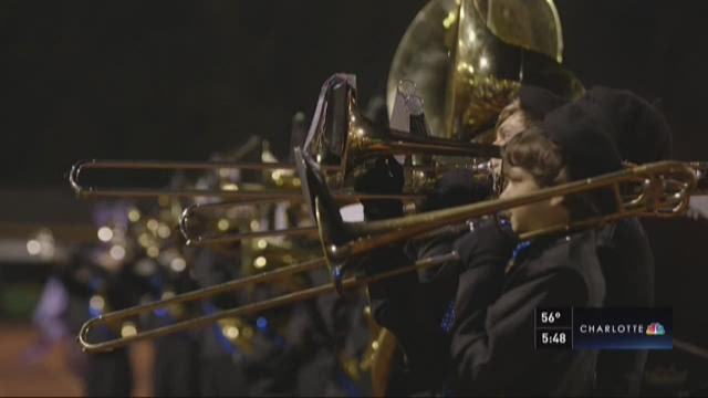 One year after tragedy, South Iredell band receives 'Dream Day' surprise