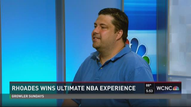 Local man wins ultimate NBA experience