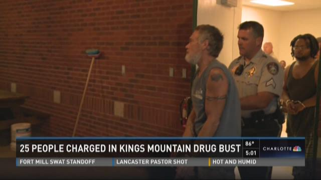 25 charged in King Mountain bust