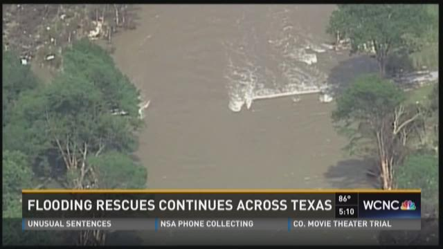 Flooding rescues continue in Texas