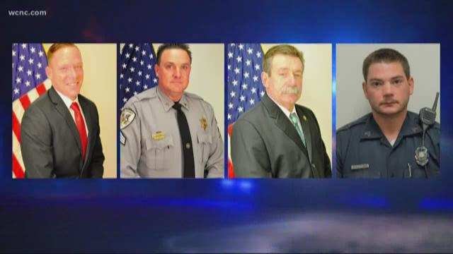 SC police officers shot during search for suspect