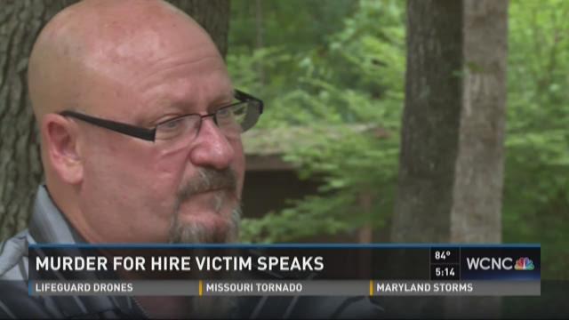 Murder for hire victim speaks
