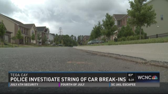 Police investigate string of car break-ins