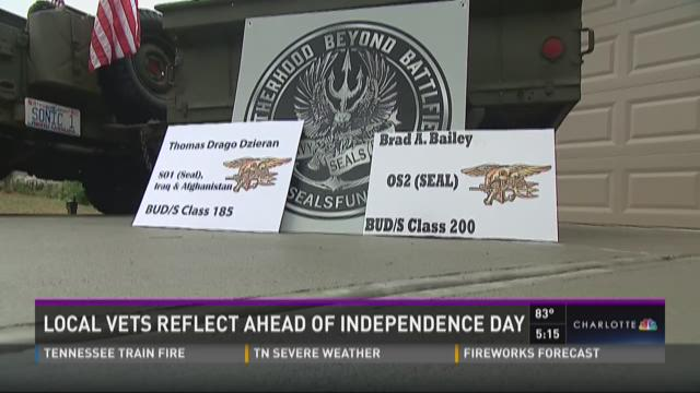 Local veterans reflect ahead of Independence Day