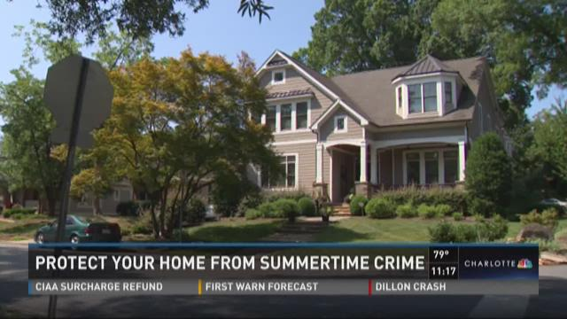 Protect your home from summertime crime