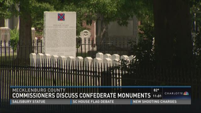 County commissioners discuss Confederate monuments
