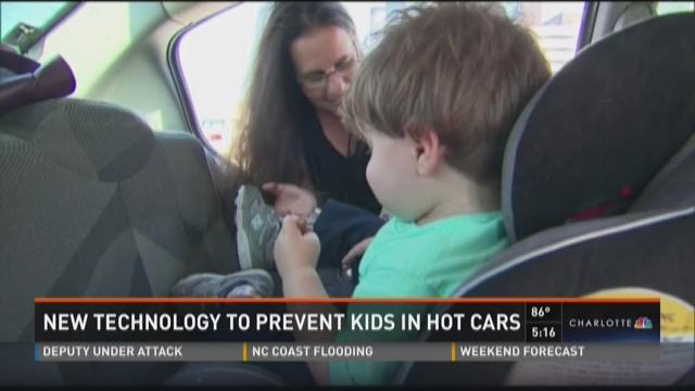 New technology to prevent kids in hot cars