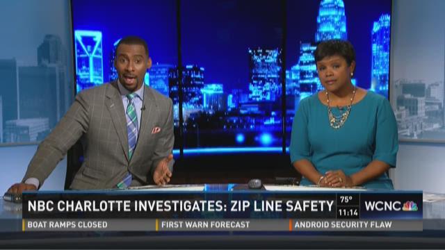 NBC Charlotte investigates zip line safety
