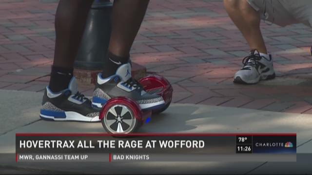 Hovertrax all the rage at Wofford