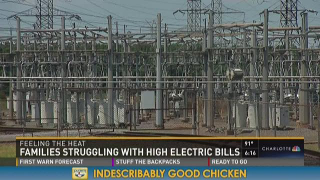 Families struggling with high electric bills
