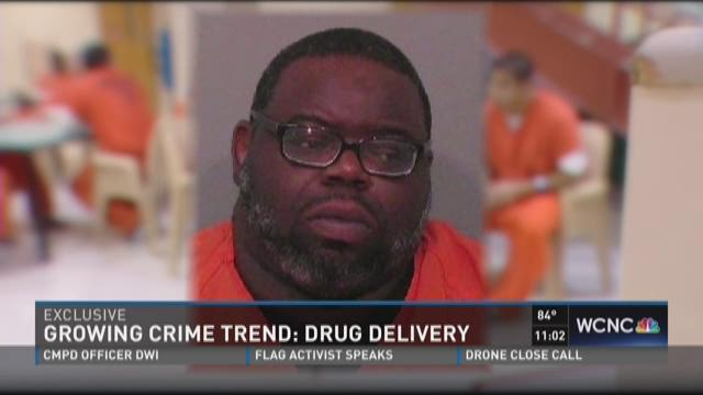 Growing crime trend: Drug delivery