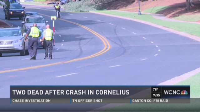 Two dead after crash in Cornelius