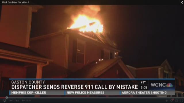Dispatcher sends reverse 911 call by mistake