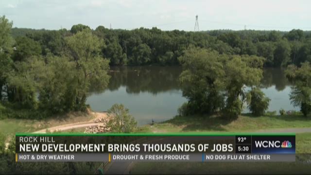 New development brings thousands of jobs