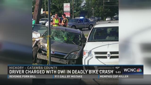 Driver charged with DWI in deadly bike crash