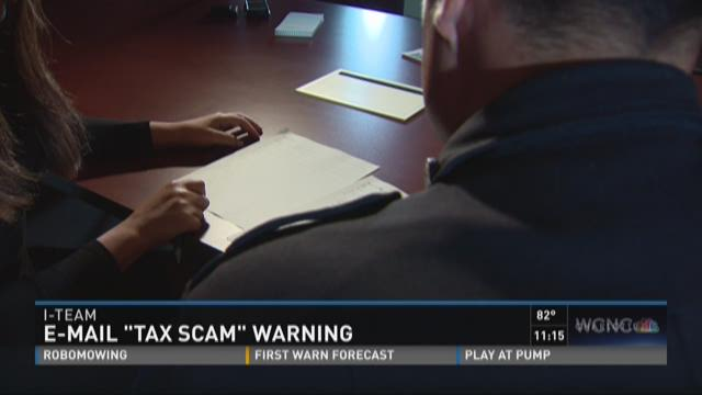 Authorities warn of new e-mail tax scam