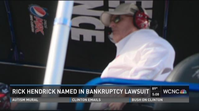 Rick Hendrick named in bankruptcy lawsuit