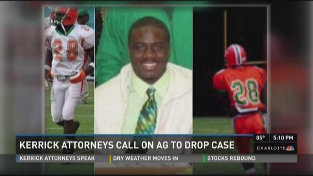 Kerrick attorneys call on Attorney General to drop case