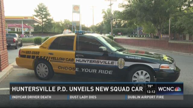 Huntersville Police unveils new squad car