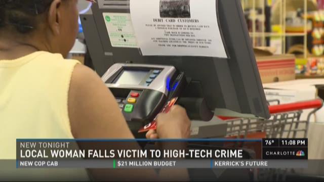 Local woman falls victim to high-tech crime