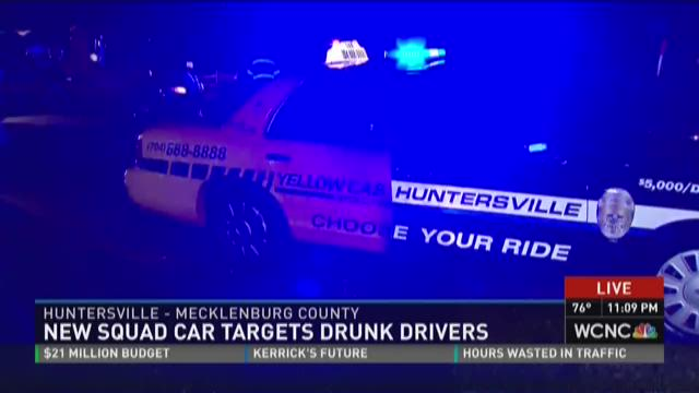 New squad car targets drunk drivers