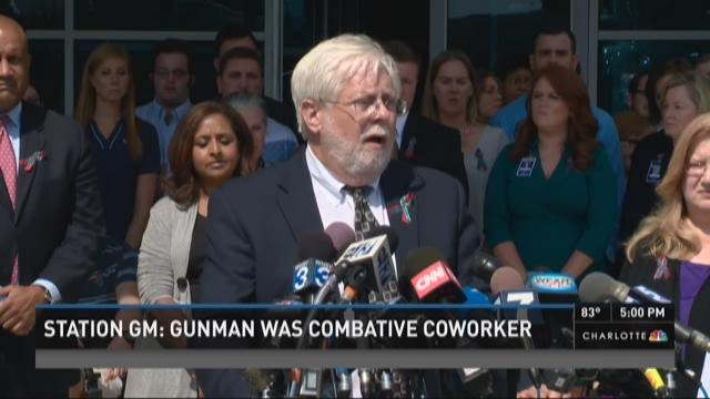 Station GM: Gunman was combative co-worker