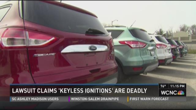 Lawsuit claims 'keyless ignitions' are deadly