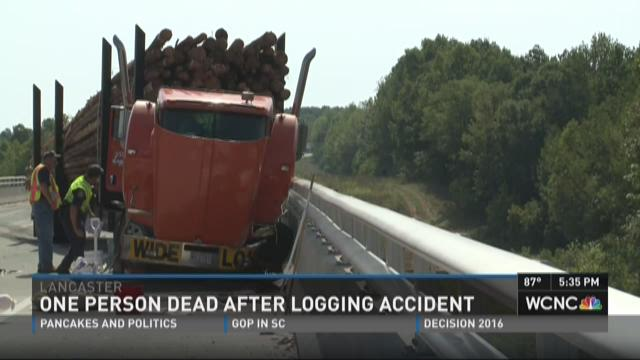 One person dead after logging accident