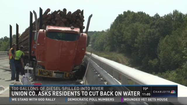 Union Co. asks residents to cut back on water