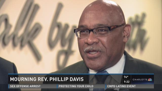 Mourning Reverend Phillip Davis
