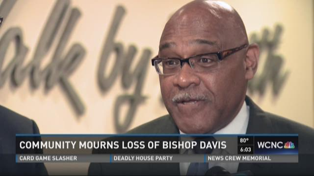 Community mourns loss of Bishop Davis