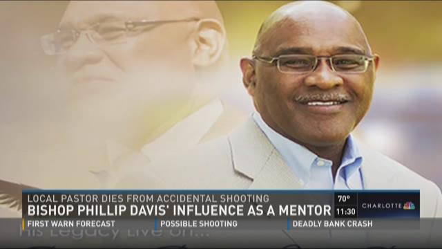 Bishop Phillip Davis' influence as a mentor
