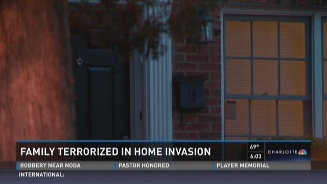 Family terrorized in home invasion