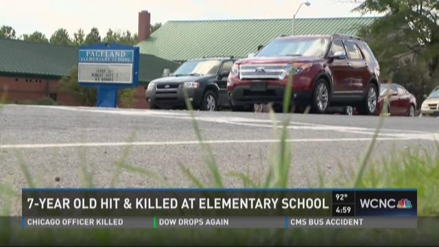 7-year-old hit and killed at elementary school